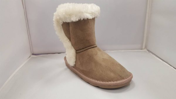 Ugg Fur Lined Boots Taupe-0